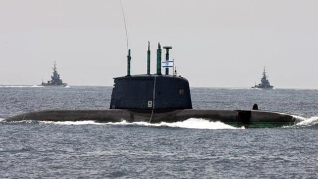 israil-denizaltı