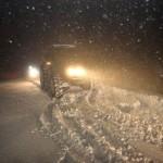 Yozgat'ın Sorgun İlçesinde dün öğle saatlerinde başlayan kar yağışıyla ilçe beyaza büründü.