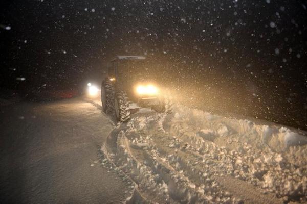 """17 il için """"Kuvvetli kar"""" uyarısı!"""