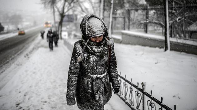 kar yağışı-istanbul