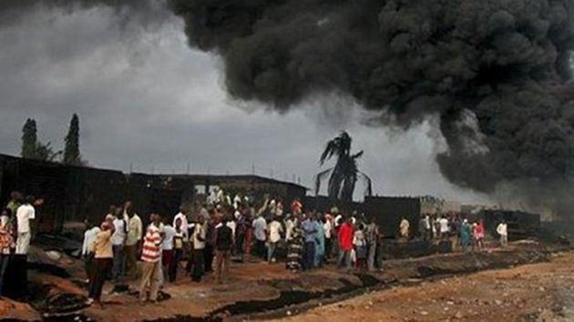 Nijerya-gaz dolum-patlama