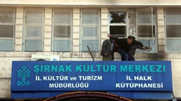 şırnak-kütüphane-pkk-saldırı
