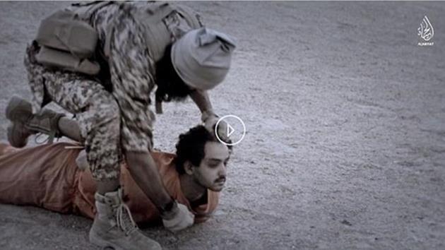 IŞİD'den kafa kesme görüntüleriyle tehdit!