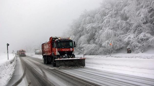 Bolu Dağı-kar yağışı