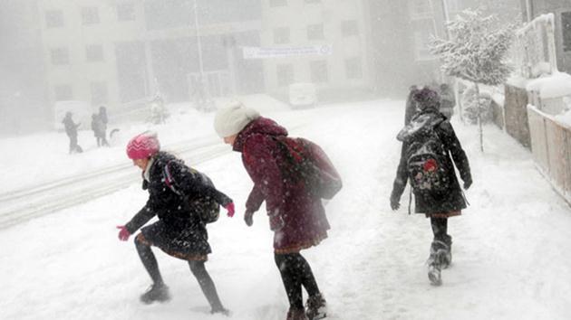 11 kentte okullara kar tatili