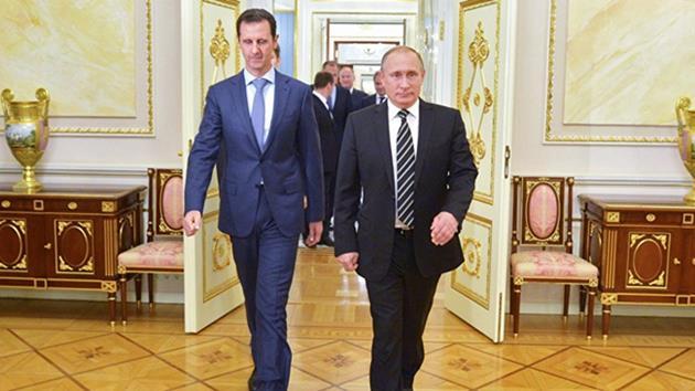 Esad'dan Putin'e Palmira teşekkürü
