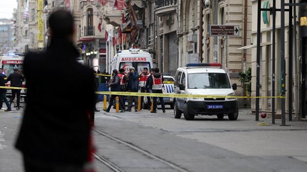 """Taksim'deki saldırgan """"IŞİD bağlantılı"""""""