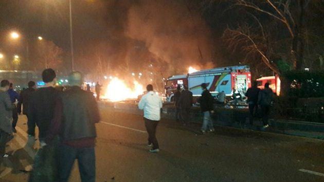 Ankara Kızılay'da bombalı saldırı: 37 ölü, 125 yaralı