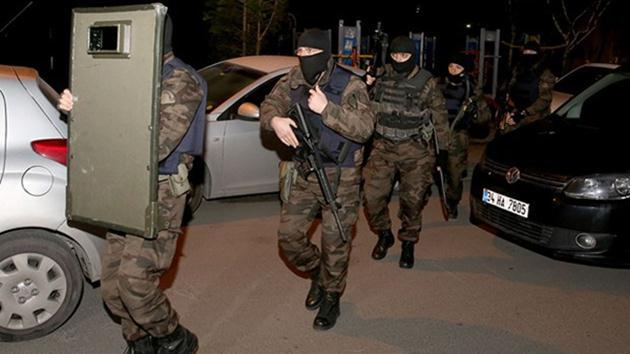 İstanbul'da şafakta terör operasyonu