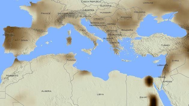 kuraklık haritası