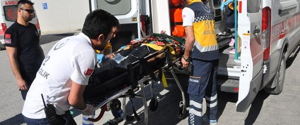 Hamile kadını sokak ortasında bıçakladı
