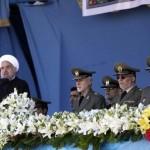 İran'ın başkenti Tahran'ın güneyindeki Beheşti Zehra tören alanında düzenlenen, İran Cumhurbaşkanı Hasan Ruhani'nin de katıldığı Ordu Günü geçit töreninde Rus yapımı S-300 füze sistemlerine ait bazı parçaların sergilenmesi dikkati çekti.