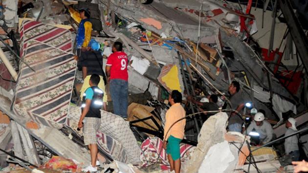 Ekvador'da 7.8 büyüklüğünde deprem!