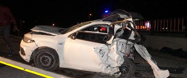 Afyon'da trafik kazası: 4 ölü, 1 yaralı