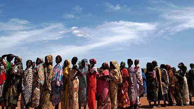 Güney Sudan nüfusunun yarısı aç!