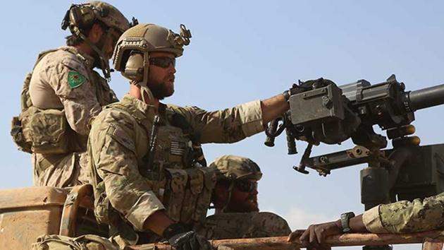 Suriye'de 'YPG armalı' ABD askeri