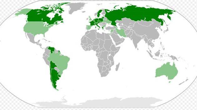 """1915 olaylarını """"soykırım"""" diyen ülkeler"""