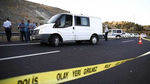 3 yolcu otobüsüne silahlı saldırı