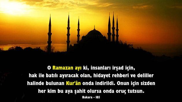 Ramazan ve Dualarımız