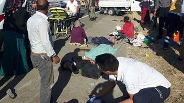 Suruç'ta tarım işçileri kaza yaptı: 2 ölü!