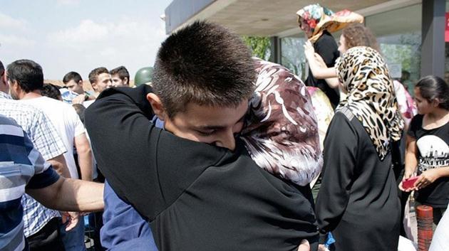 Kuleli Askeri Lisesi öğrencileri tahliye