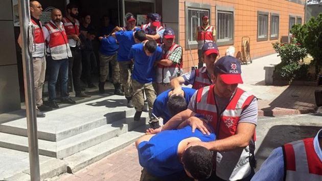 asker-darbe-ak parti-il başkanlığı-tutuklama