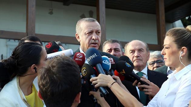 Erdoğan'dan kayyum açıklaması: Geç atılmış bir adımdı