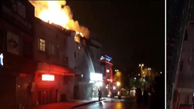 İstanbul'da yangın: 3 yaşındaki çocuk öldü!