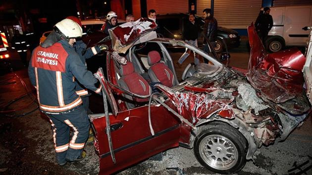İstanbul Bahçelievler'de alkollü sürücü dehşet saçtı!