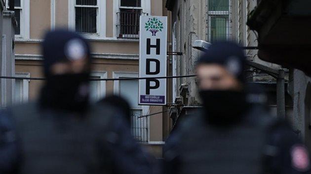 İstanbul ve Adana'da HDP'ye terör operasyonu