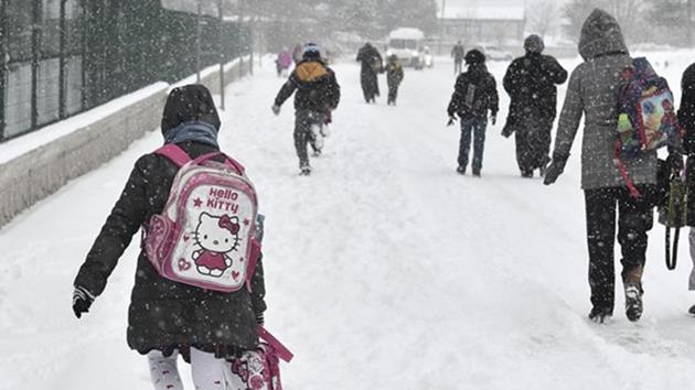21 ilde eğitime kar tatili
