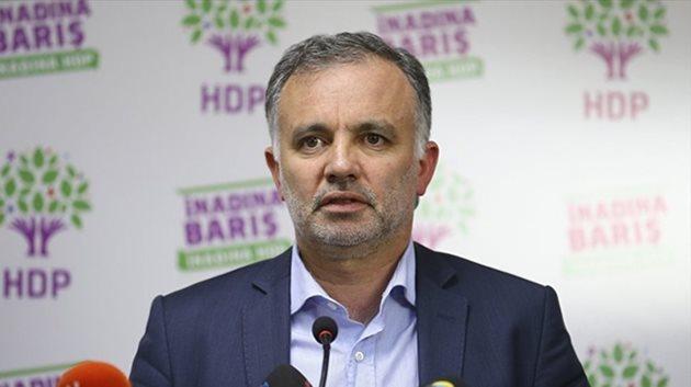 HDP'li Ayhan Bilgen tutuklandı
