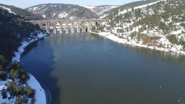 istanbul-kar yağışı-baraj