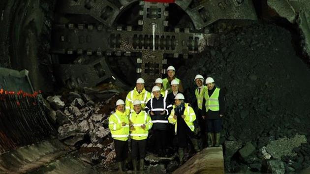 Mahmeybey – Kabataş Metro tünelleri birleşti