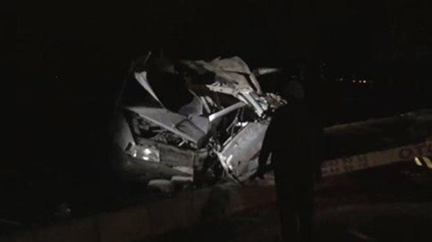Ankara'da feci kaza: 5 ölü, 1 yaralı
