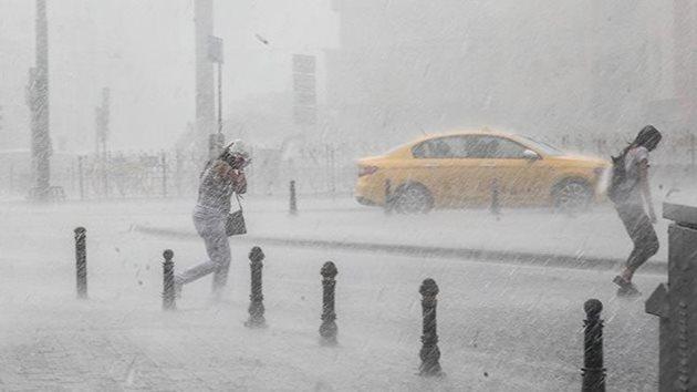 Meteoroloji'den İstanbul için 'kuvvetli sağanak' uyarısı