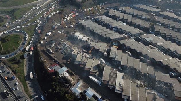 Nakliyeciler Sitesi-Zeytinburnu-yıkım