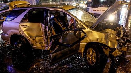 Fatih'te feci kaza: 1 ölü!