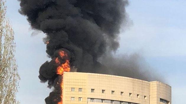 Taksim İlkyardım Hastanesi'nde yangın!