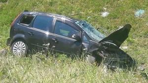 Başakşehir TEM Otoyolu'nda kaza: 2'si ağır 3 yaralı