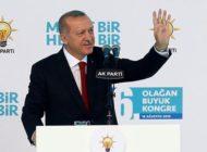 Cumhurbaşkanı Erdoğan yeniden AK Parti Genel Başkanı