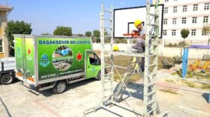 """Başakşehir Belediyesi'nden """"Haydi Sahaya Projesi""""ne tam destek"""