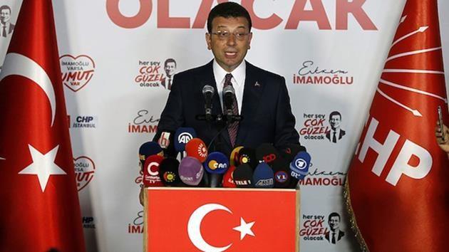 Ekrem İmamoğluu'ndan seçim sonucu açıklaması